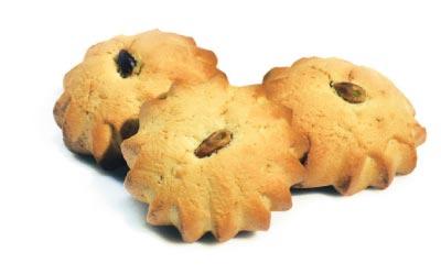 biscotti ripieni ai pistacchi