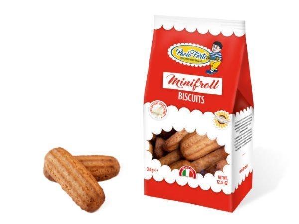 minifroll biscotti con olio alto oleico